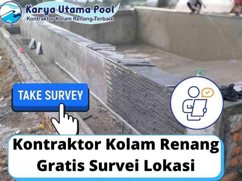 Kontraktor Kolam Renang Gratis Survei Lokasi